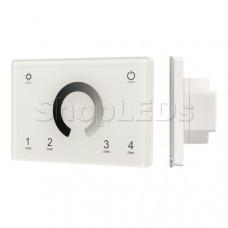 Панель Sens SMART-P79-DIM White (230V, 4 зоны, 2.4G)