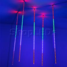 Светодиодная гирлянда ARD-ICEFALL-CLASSIC-D12-1000-5PCS-CLEAR-120LED-LIVE RGB (230V, 11W)