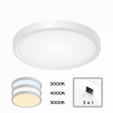 CL738180V Бейсик Белый Св-к Накл. LED 18W*Мульти